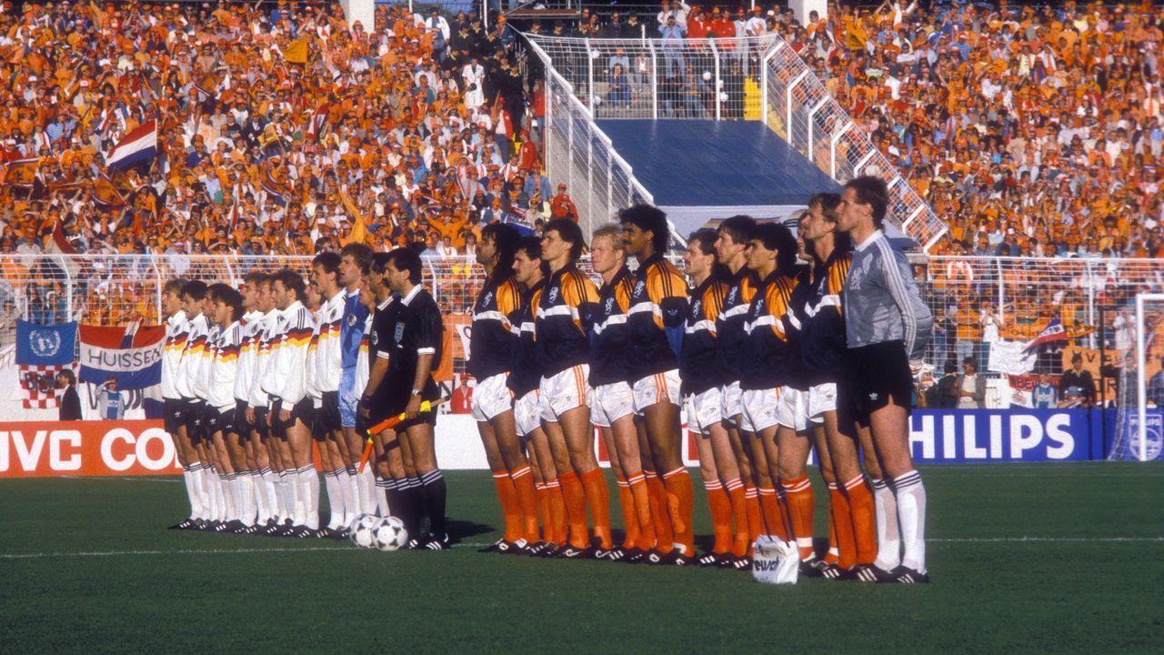Halbfinale gegen Holland - Bildquelle: Imago