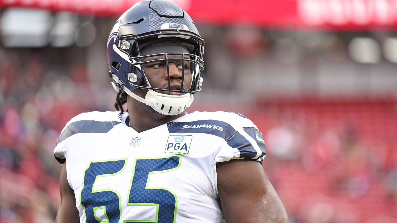 Option nicht gezogen: Germain Ifedi (Seattle Seahawks) - Bildquelle: imago