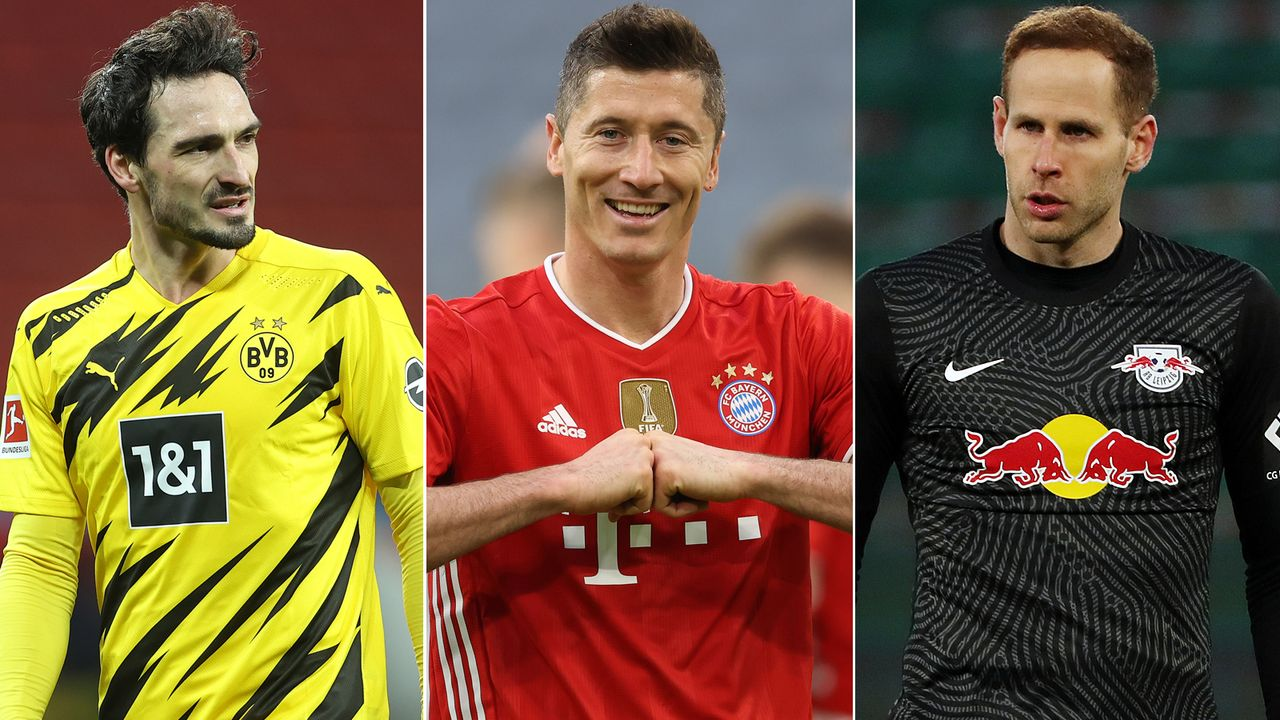 Die Top-Elf der Bundesliga-Saison 2020/21 - Bildquelle: Getty Images