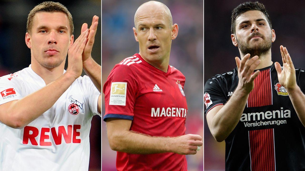 Diese Stars erzielten die meisten Bundesliga-Tore mit dem linken Fuß - Bildquelle: Getty Images