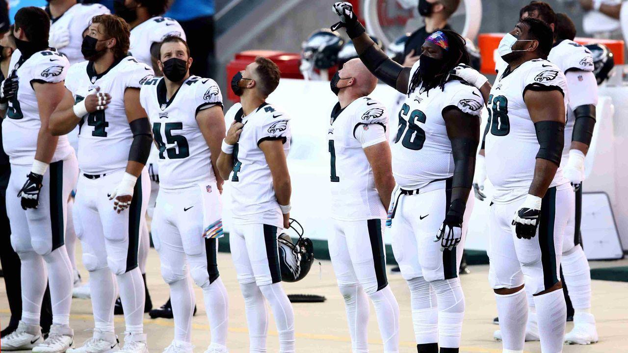 12. Pick: Philadelphia Eagles (via San Francisco 49ers, Miami Dolphins) - Bildquelle: getty