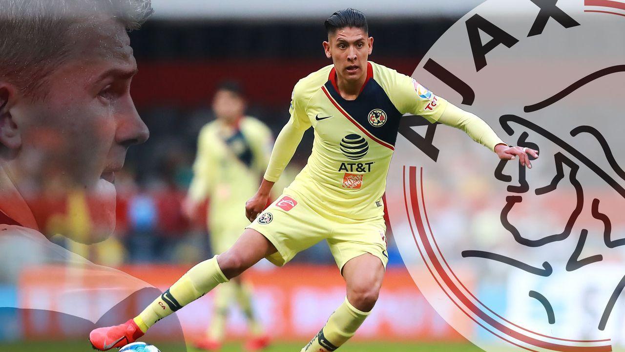 Edson Alvarez (Ajax Amsterdam) - Bildquelle: 2019 Getty Images