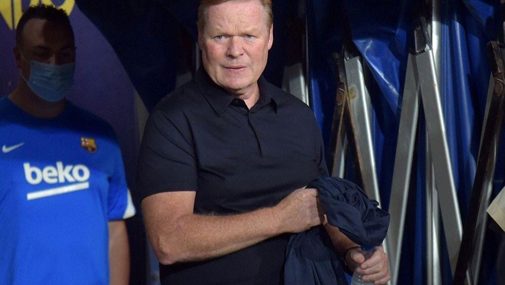 Zwei Spiele Sperre für Barcelona-Trainer Ronald Koeman - Bildquelle: AFPSIDCRISTINA QUICLER