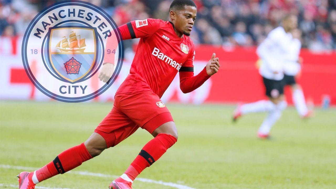 Leon Bailey (Bayer Leverkusen) - Bildquelle: imago images/Laci Perenyi