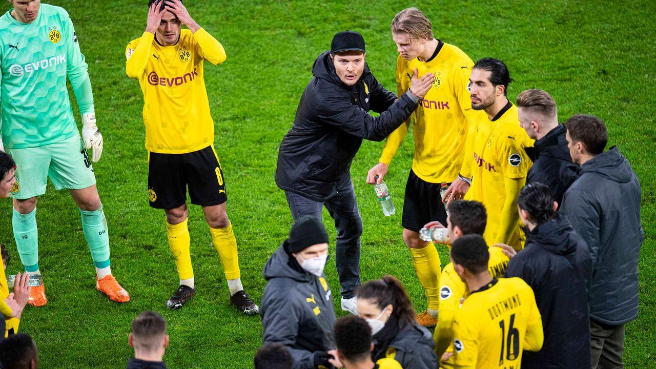Frühe Berichte über angebliche Unruhe im Team - Bildquelle: Christopher Neundorf/Kirchner-Media/pool
