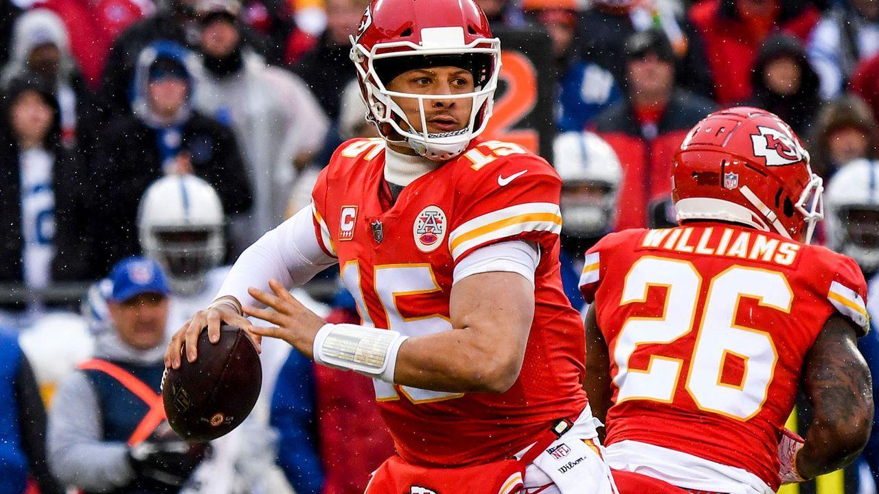 Platz 4: Kansas City Chiefs (13-4 - letzte Woche Platz 4) - Bildquelle: 2019 Getty Images