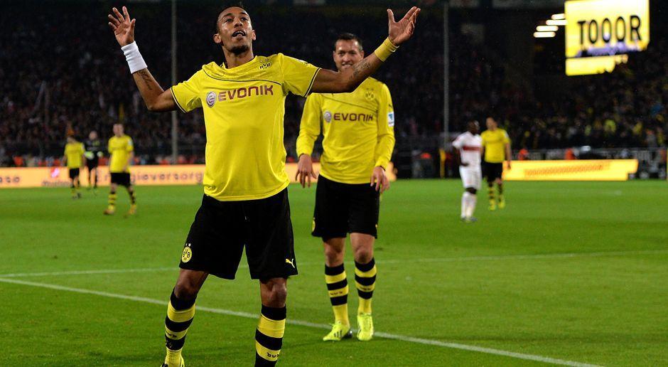 2013 - Pierre-Emerick Aubameyang zu Borussia Dortmund (13 Mio.) - Bildquelle: 2013 Getty Images