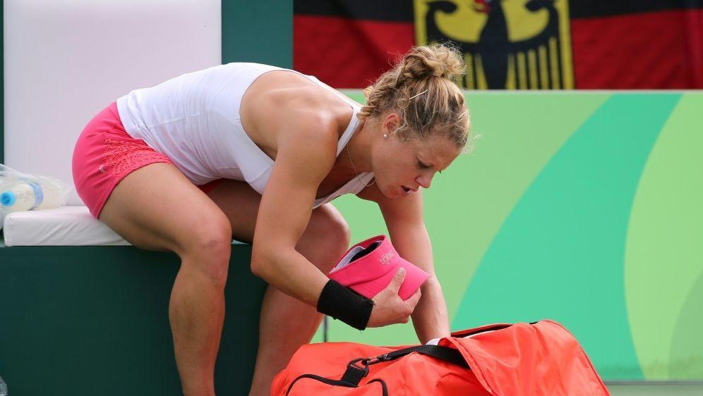 Laura Siegemund verlor 1:6, 1:6 gegen Aryna Sabalenka - Bildquelle: PIXATHLONPIXATHLONSID