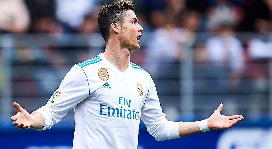 Angriff: Cristiano Ronaldo - Bildquelle: 2018 Getty Images