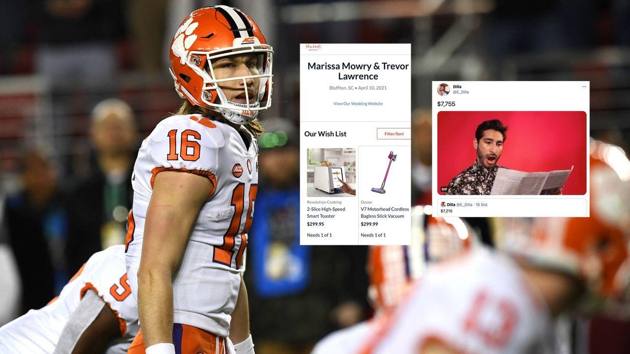 Jags-Fans: Hochzeitsgeschenk für Lawrence eskaliert - Bildquelle: imago images/ZUMA Wire
