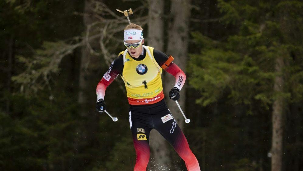 Auszeichnung für Biathlon-Star Johannes Thingnes Bö - Bildquelle: PIXATHLONPIXATHLONSID
