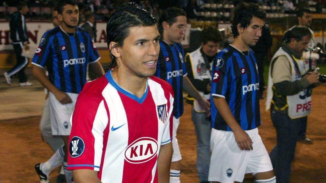 Platz 5 - Sergio Agüero (Atletico Madrid) - Bildquelle: Imago
