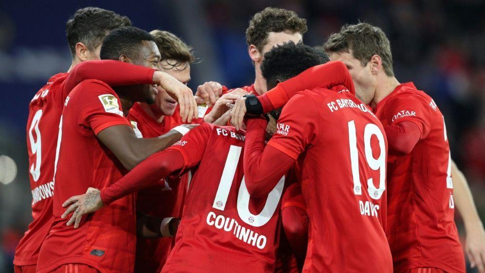 Bayern gewann gegen Bremen souverän mit 6:1 - Bildquelle: FIROFIROSID