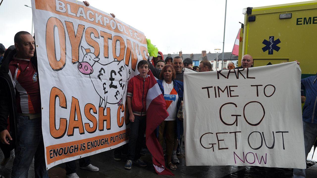 FC Blackpool: Vom eigenen Investor ausgenommen - Bildquelle: Getty Images