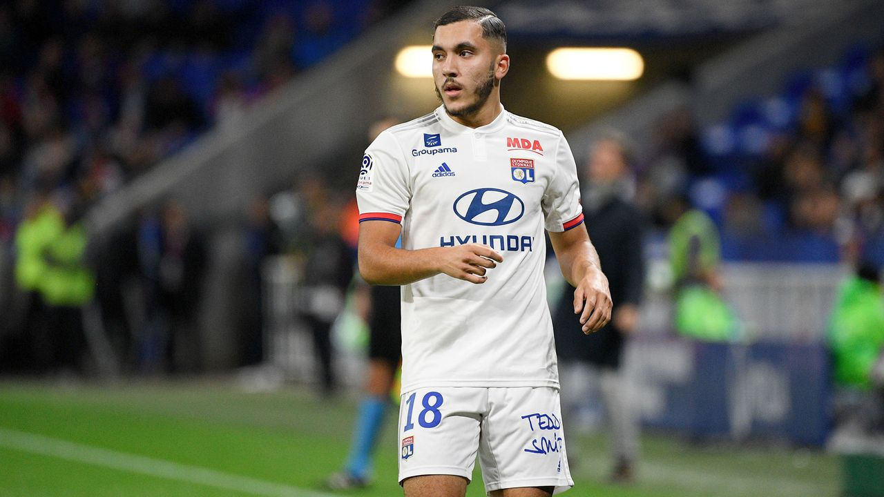 1. Rayan Cherki (Olympique Lyon/Frankreich) - Bildquelle: imago images/PanoramiC