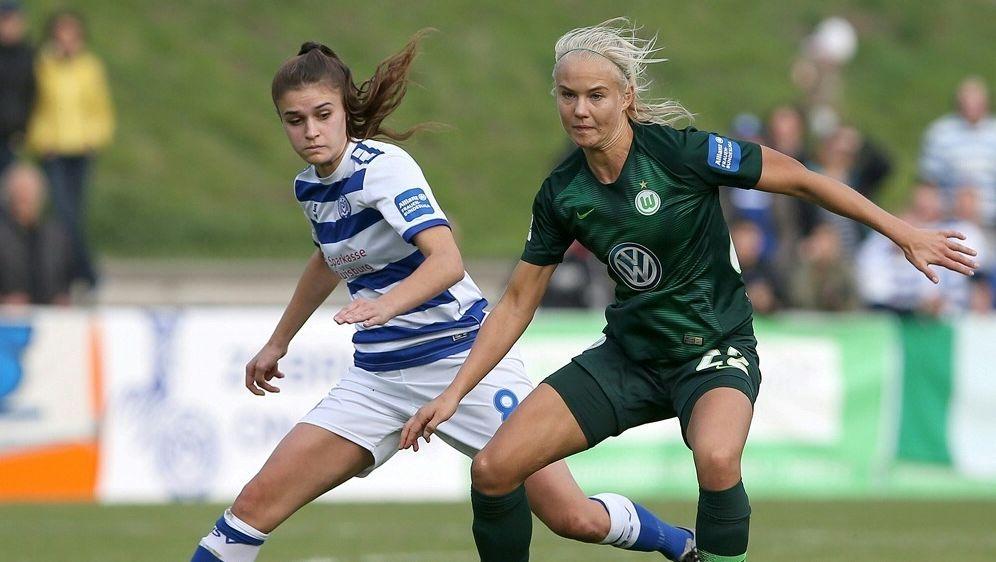 Wolfsburger Fussballerinnen Machen Grossen Schritt Richtung Titel