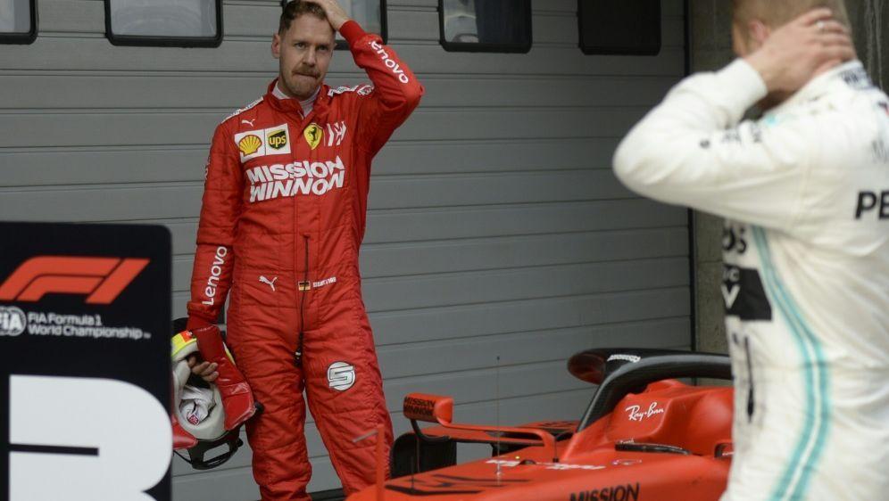 Nur auf Platz drei in Shanghai: Sebastian Vettel - Bildquelle: AFPSIDWANG ZHAO