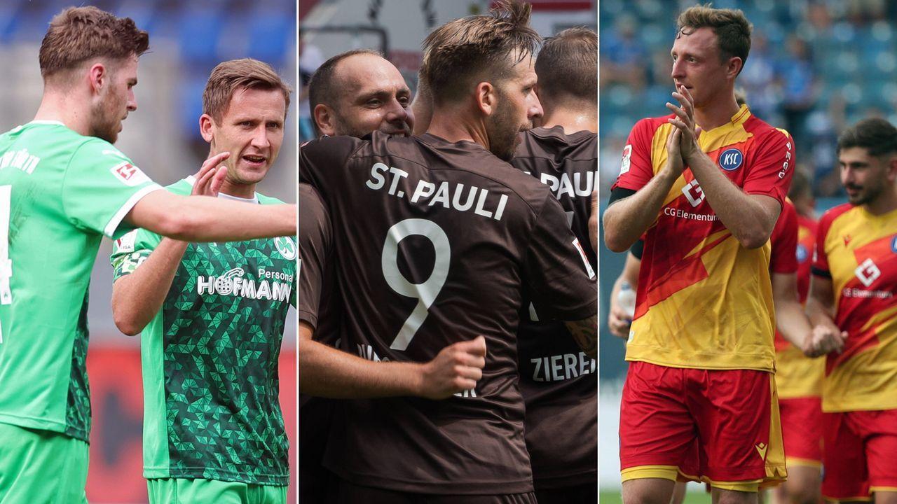 Top 10: Die Rekordteams der 2. Bundesliga mit den meisten Spielen - Bildquelle: Getty Images/Imago