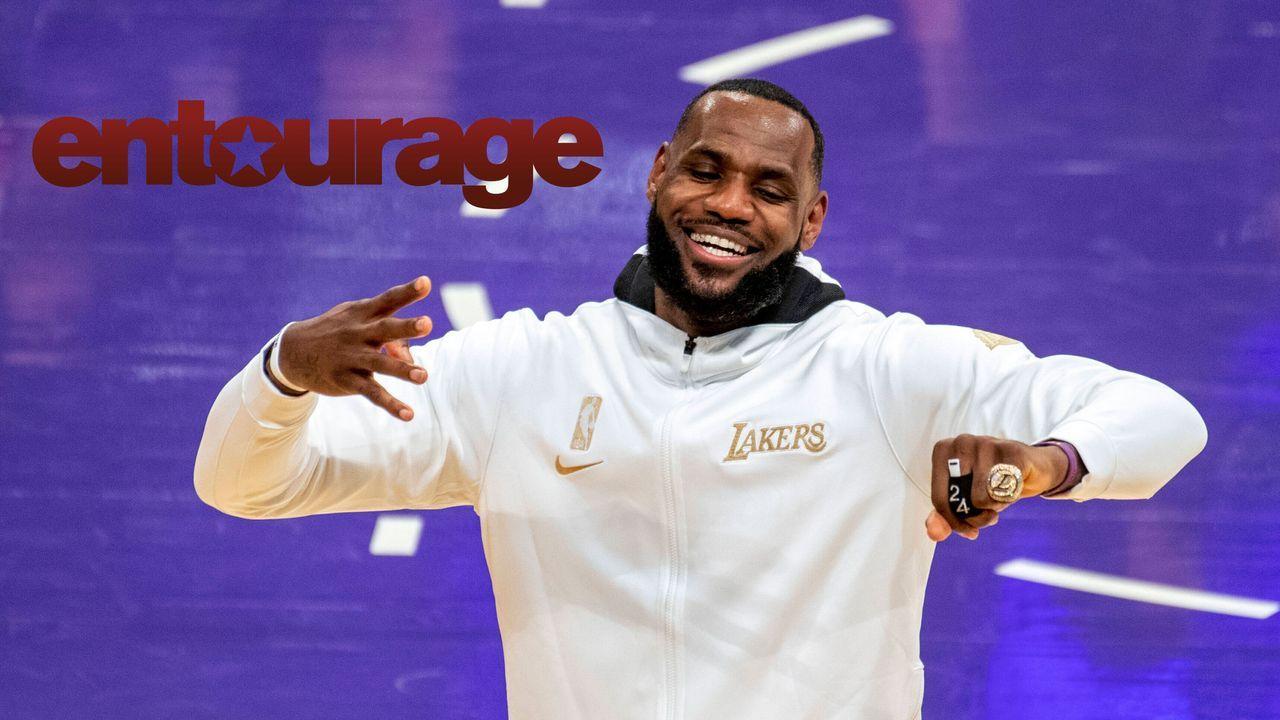 "Lebron James (""Entourage"") - Bildquelle: imago images/ZUMA Press"