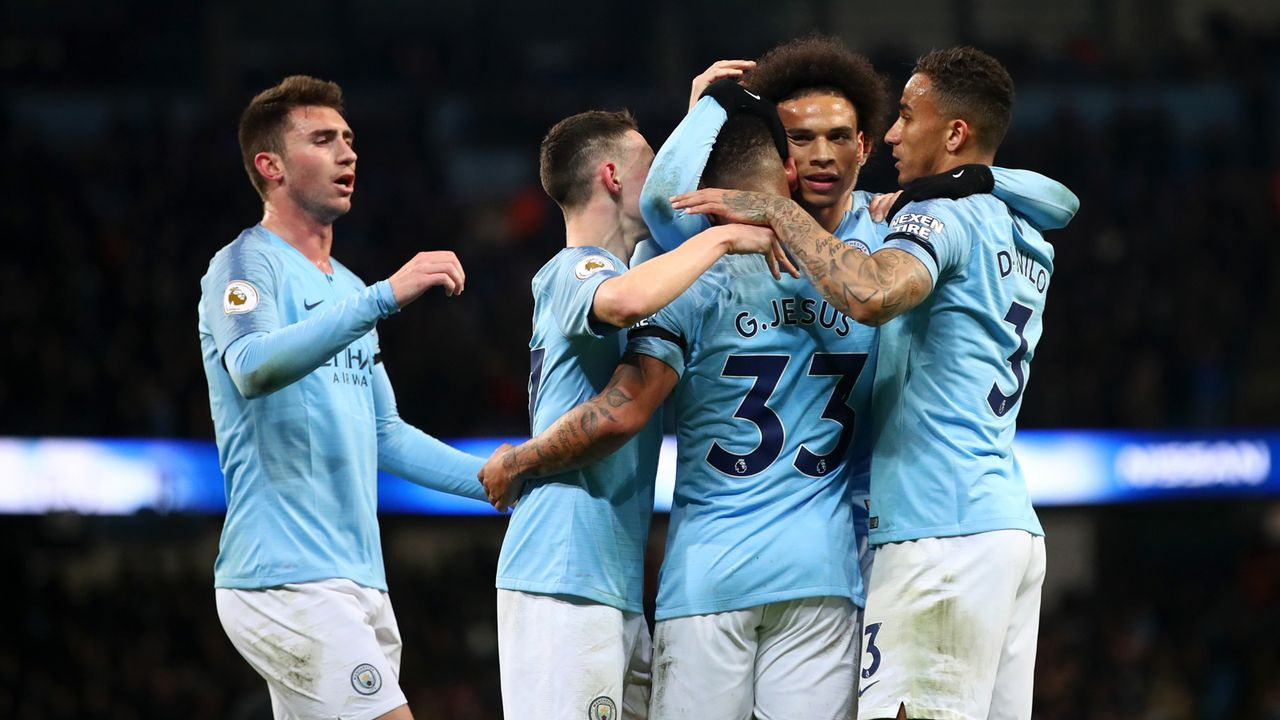 Platz 2: Manchester City - Bildquelle: 2019 Getty Images
