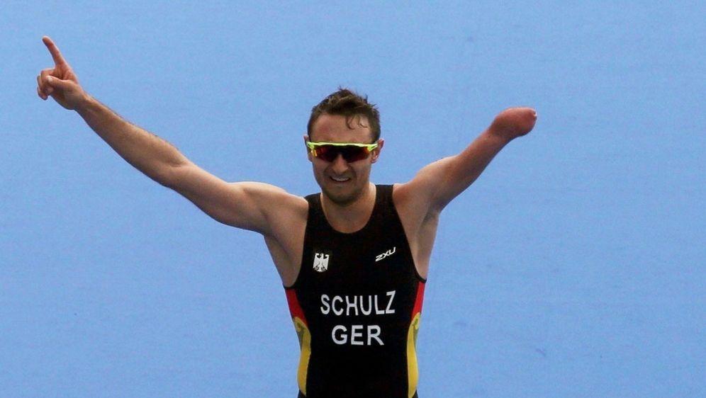 Martin Schulz hat die Silbermedaille gewonnen - Bildquelle: pixathlonpixathlonSID