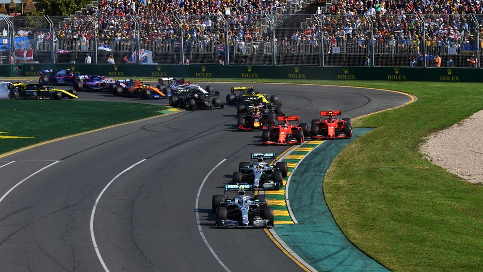 Start zum GP Australien 2019 in Melbourne - Bildquelle: Motorsport Images