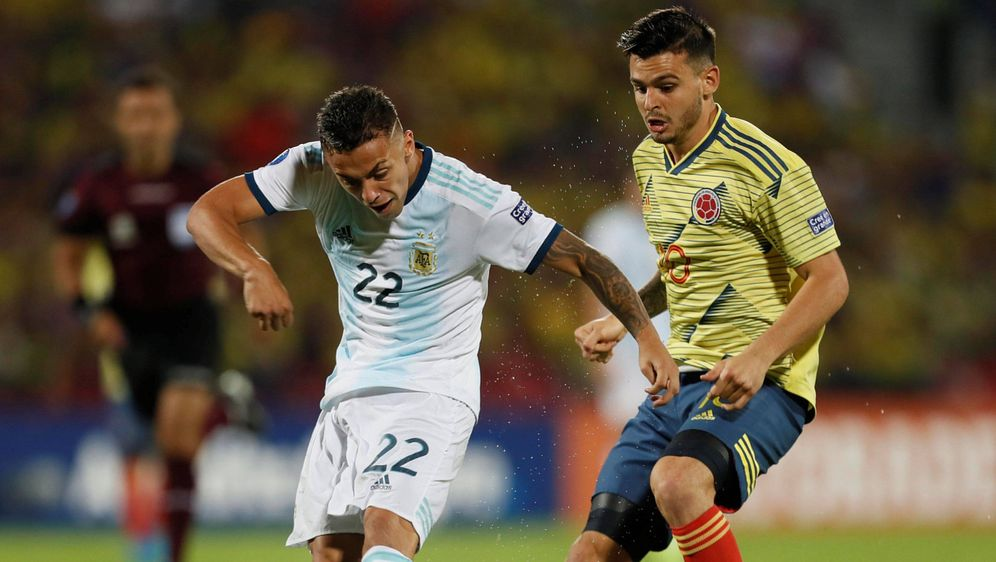 Argentiniens Fußballer fahren nach Tokio. - Bildquelle: imago
