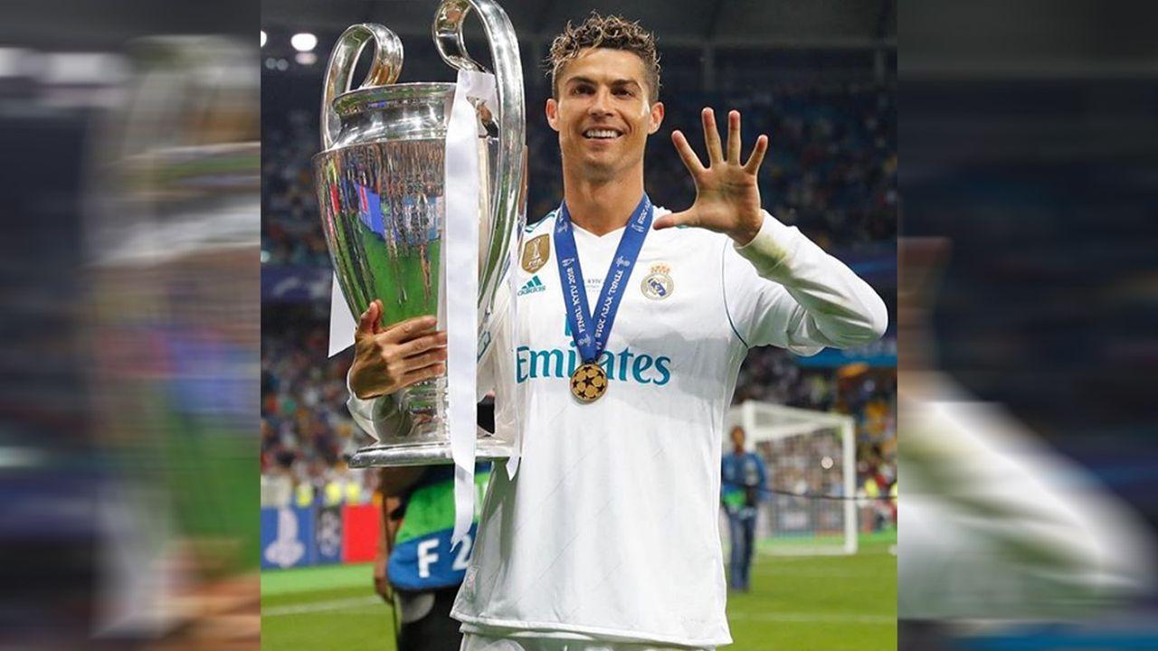 Cristiano Ronaldo beim Champions-League-Sieg 2017 - Bildquelle: cristiano/instagram
