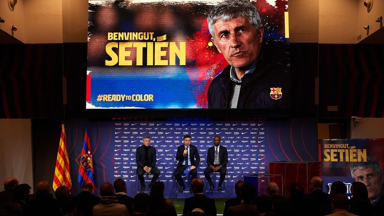 Barca holt Setien aus Ruhestand zurück - Bildquelle: 2020 Getty Images