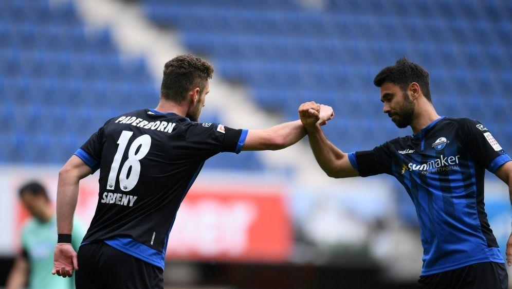 Srbeny erzielt Last-Minute-Ausgleich für Paderborn - Bildquelle: FIROFIROSID