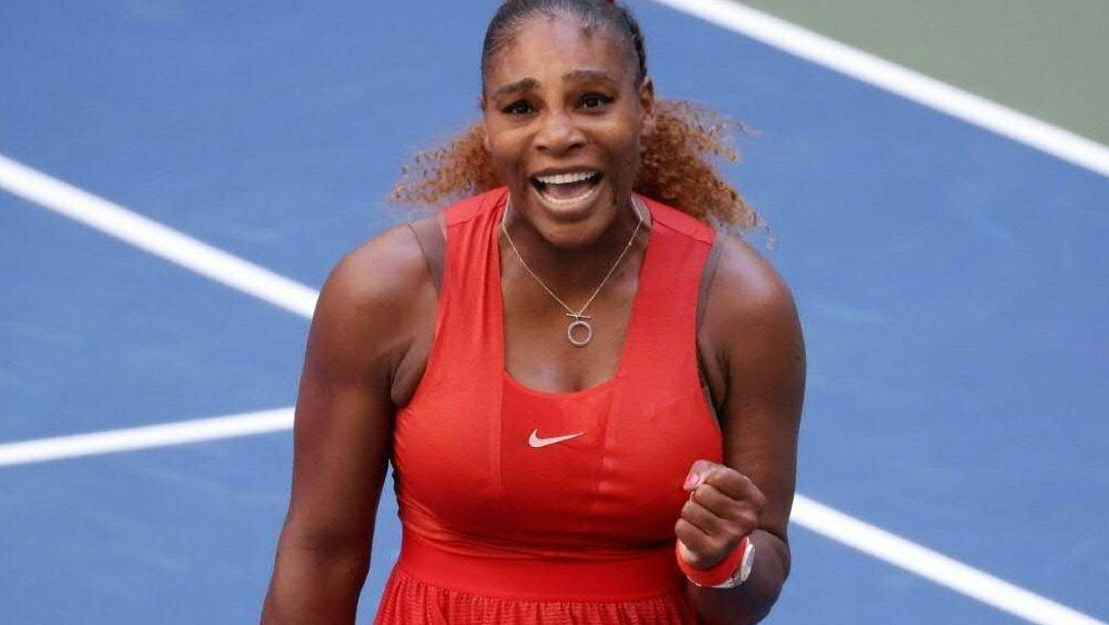 Steht im Halbfinale der US Open: Serena Williams - Bildquelle: AFPGETTY SID