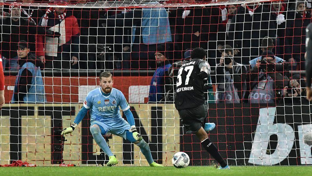 Ein Elfmeter in der 98. Minute besiegelte die FC-Niederlage gegen Hoffenheim... - Bildquelle: imago