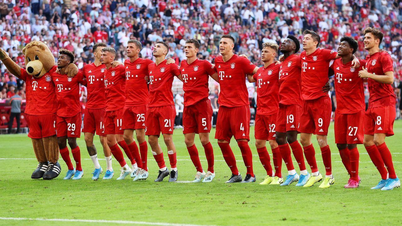Platz 4: FC Bayern München - Bildquelle: 2019 Getty Images