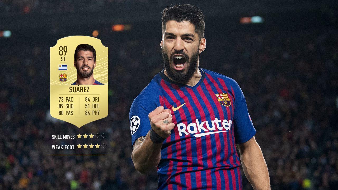 11. Luis Suarez (FC Barcelona)  - Bildquelle: 2019 Getty Images