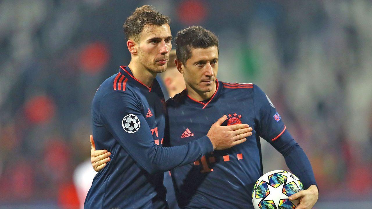 Bayerns Bestmarken in der Champions League - Bildquelle: 2019 Getty Images
