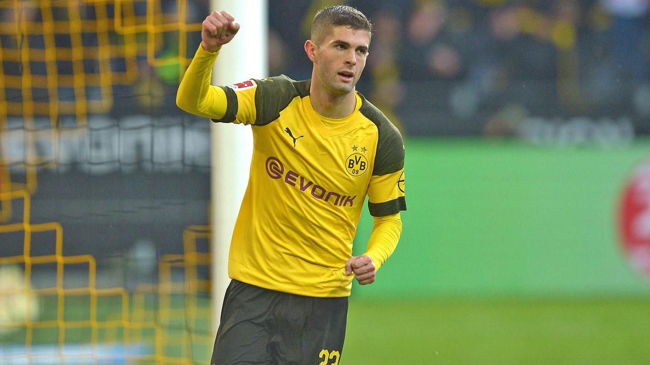 Christian Pulisic (Borussia Dortmund) - Bildquelle: imago
