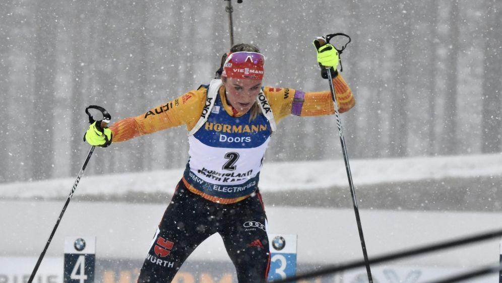 Denise Herrmann wird in Kontiolahti Zweite - Bildquelle: AFPSIDJUSSI NUKARI
