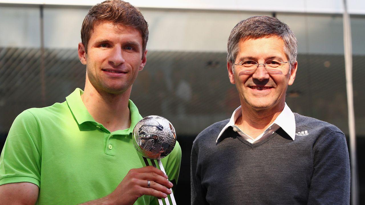 Nachfolger von Uli Hoeneß beim FC Bayern München: Das ist Herbert Hainer - Bildquelle: 2014 Getty Images