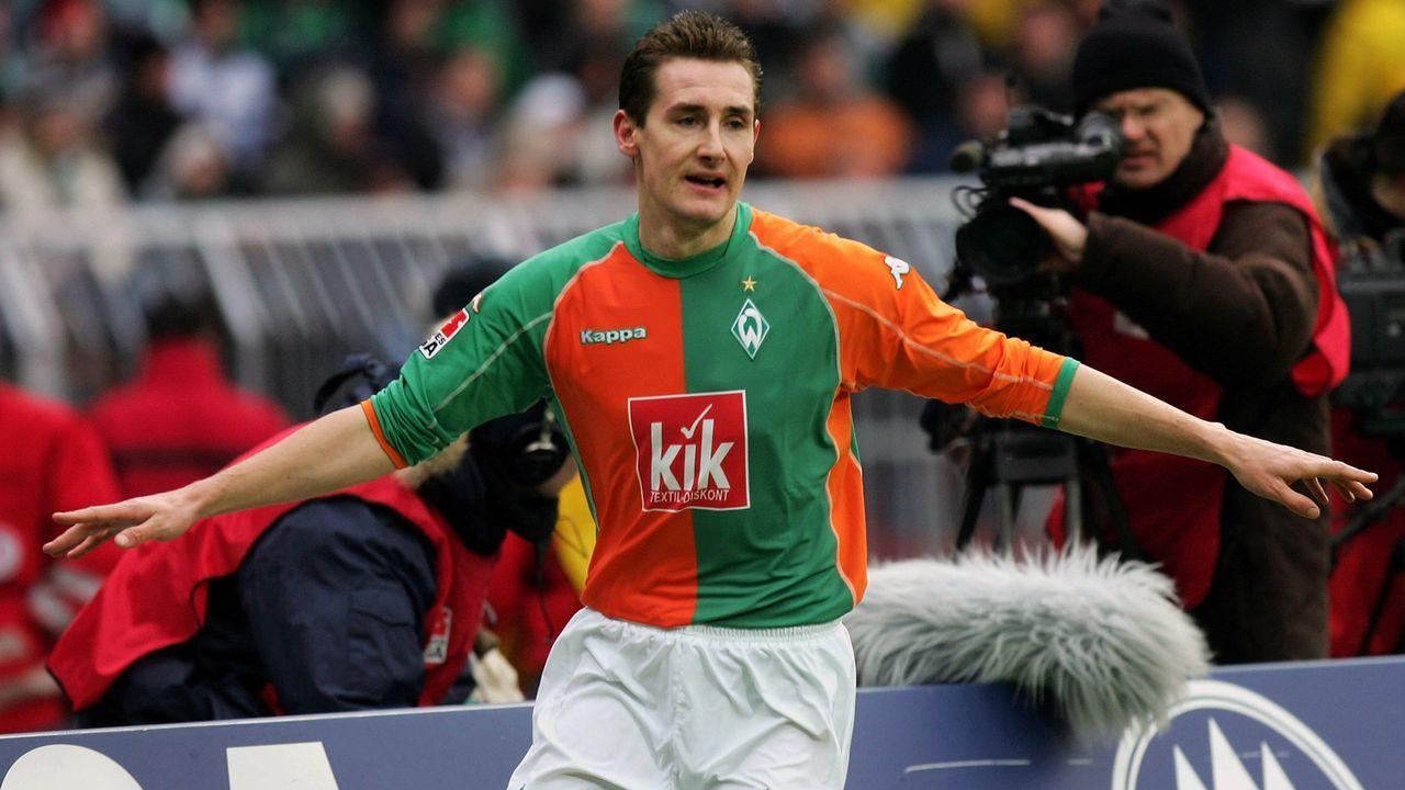Miroslav Klose (SV Werder Bremen) - Bildquelle: 2006 Getty Images