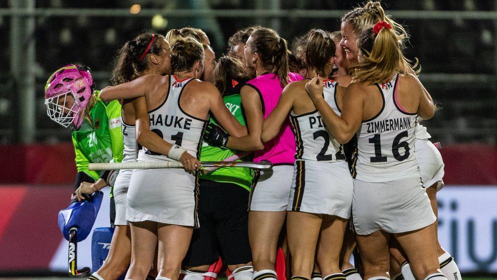 Die deutschen Hockey-Frauen bezwingen Italien 7:0 - Bildquelle: Imago