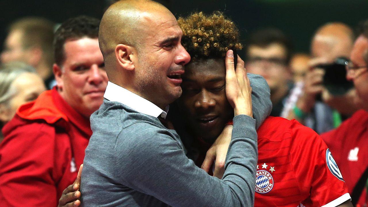 David Alaba (FC Bayern München) - Bildquelle: 2016 Getty Images