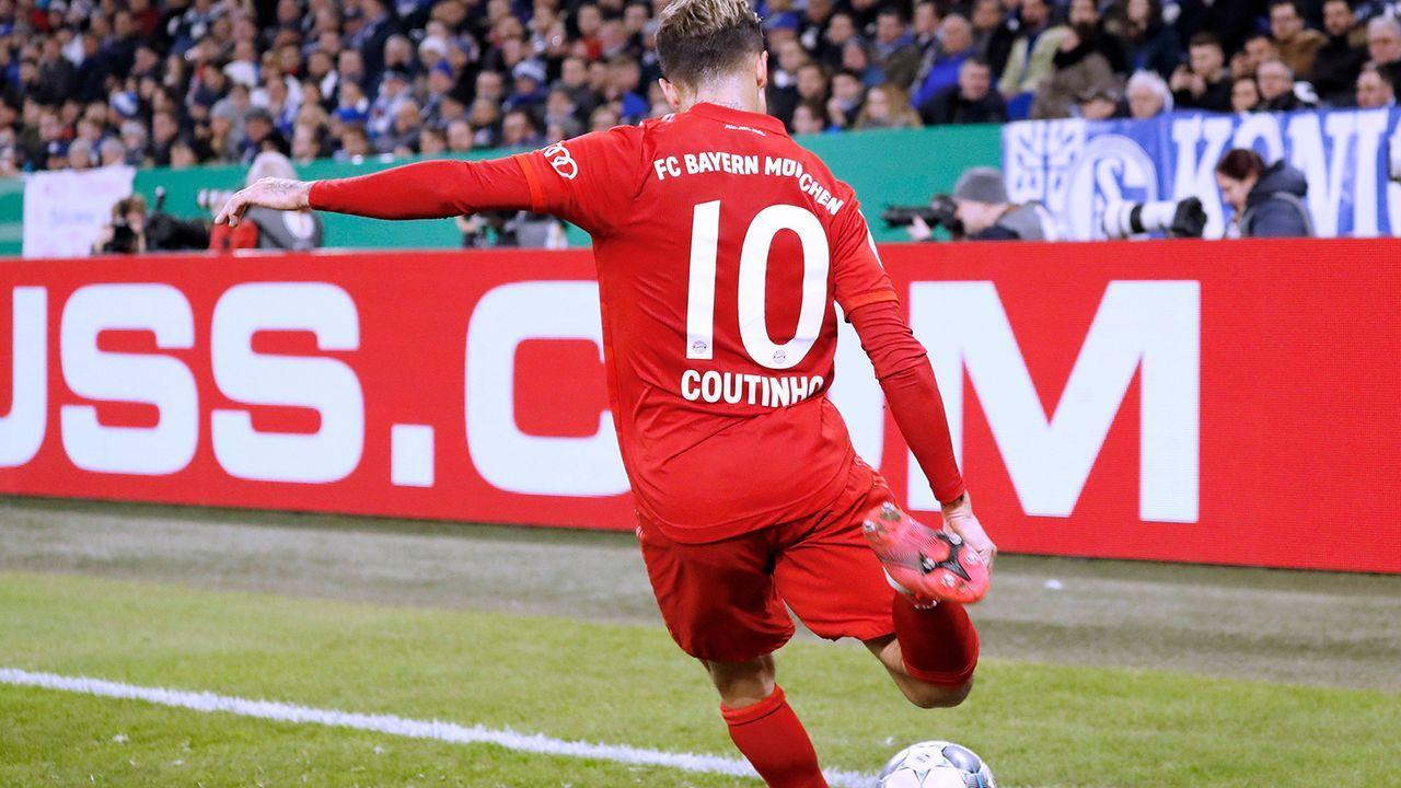 VERLIERER: Philippe Coutinho - Bildquelle: Imago