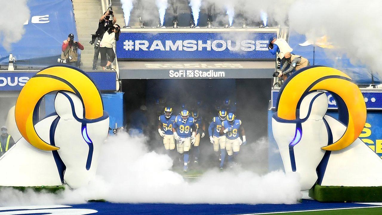 Platz 7 - Los Angeles Rams - Bildquelle: 2021 Getty Images