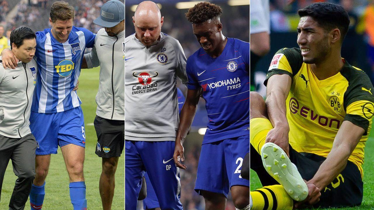 Verletzt! Für diese Stars ist die Saison 2018/19 vorzeitig zu Ende - Bildquelle: Getty Images/Imago