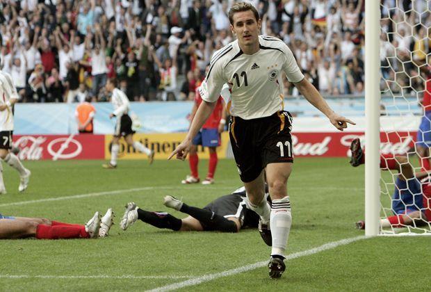 Miroslav Klose: Alle Tore des WM Rekordtorschützen