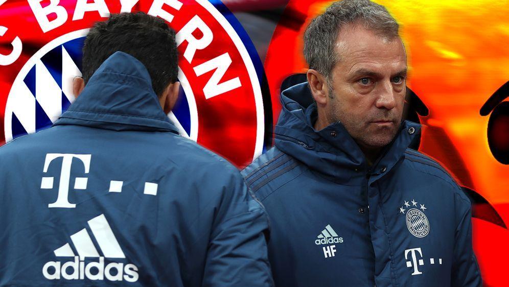 Dicke Luft beim FC Bayern - auch zwischen Salihamidzic und Flick. - Bildquelle: Getty