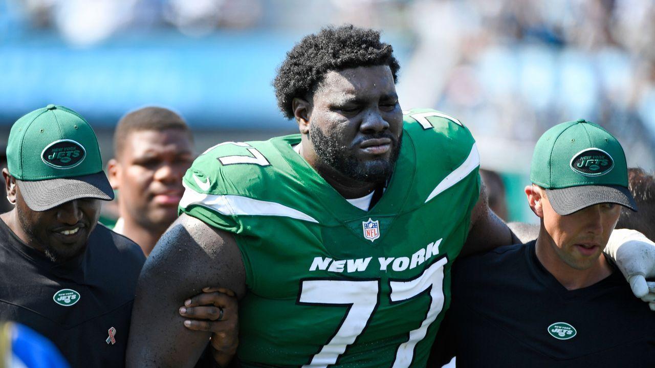 Mekhi Becton (New York Jets)  - Bildquelle: Getty Images