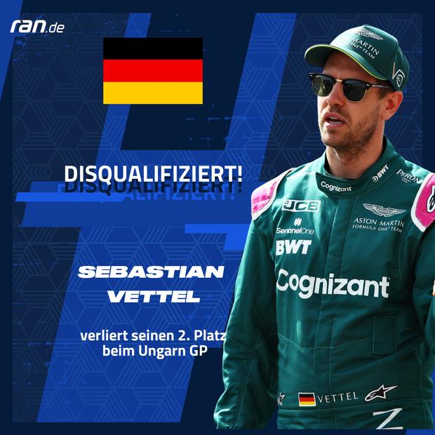 Vettel Disqualifikation - Link in Bio