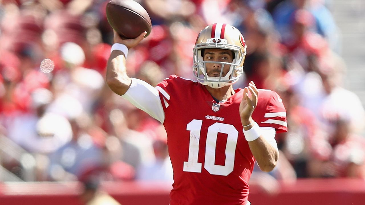 Jimmy Garoppolo (San Francisco 49ers) - Bildquelle: 2018 Getty Images