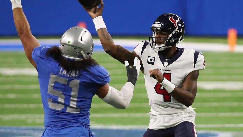 Trug entscheidend zur 25:41-Niederlage der Lions gegen die Texansbei: Houst... - Bildquelle: Getty Images